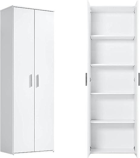 mokebo® Mehrzweckschrank 'Der Lange' moderner Aktenschrank, Schrank & Haushaltsschrank, Made in Germany   60x180x34 (B/H/T in cm)
