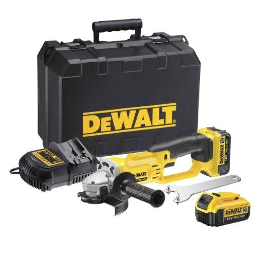 Dewalt DCG412M2-GB - Amoladora (18 voltios)