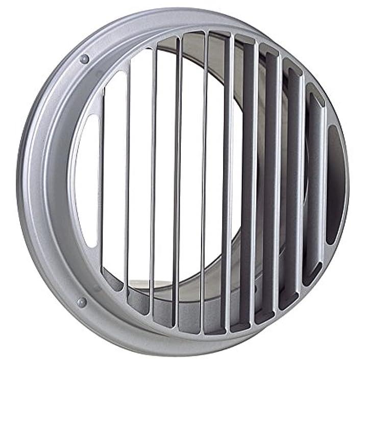 痴漢期待楽観西邦工業 SEIHO STK125FHS-VP 外壁用ステンレス製換気口 (ベントキャップ) 厚型 偏芯 縦ガラリ 低圧損