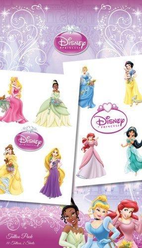 Disney Tatouages temporaires les princesses de Disney