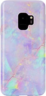 Pink Marble Samsung Galaxy S9 Case - Cute Premium Protective Phone Cases for Girls Women [Drop Test Certified Cover for Galaxy S9]