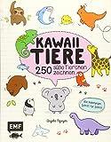 Kawaii Tiere: 250 süße Tierchen zeichnen – Alle Anleitungen Schritt für Schritt - Angela Nguyen