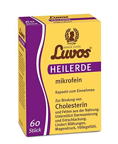 Luvos Heilerde Cholsterin, 60 Kapseln, 3er Pack (3 x 70 g)