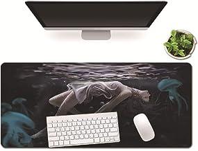 Mesa De Escritorio Protector Del Cojín, Antideslizante Fino Mousepad For Los Ordenadores, For Escritorio Accesorios Escritorio Del Ordenador Portátil A Prueba De Agua Protector ( Size : 40x80x3cm )