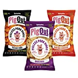 PigOut Pigless Pork Rinds, Classic Variety Pack | Plant Based,...