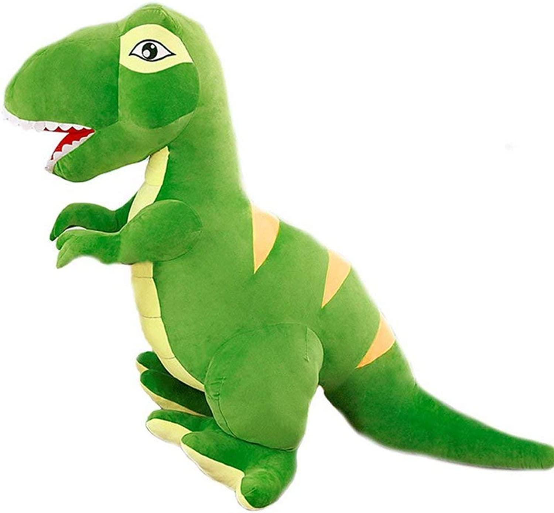 selección larga MISJIA Gran Tyrannosaurus muñeca Dinosaurio Peluche Peluche Peluche Juguete Dormir Almohada muñeca Niños Regalo tamaño Grande,verde,90cm  tienda en linea