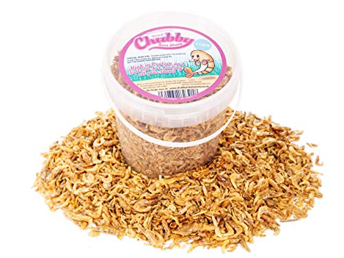 Chubby Dried River Shrimp, 1 L