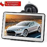 5' GPS Voiture 8GB, Hieha Appareil de NavigationÉcran Tactile, Instructions Vocales,...
