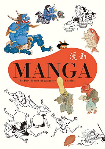 Manga The Pre-History of Japanese Comics