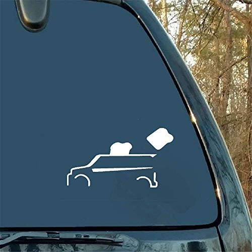 Autoaufkleber Autoaufkleber Toaster Auto Truck Funny Window Sticker Decal Car Styling Car Sticker for Car Laptop Window Sticker