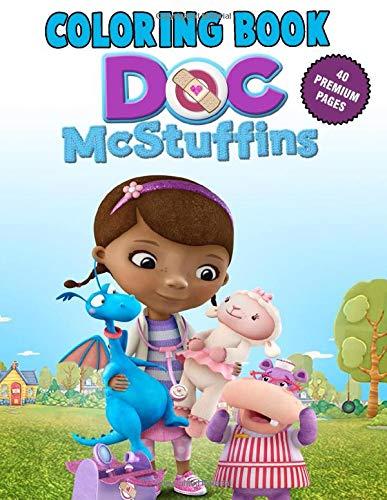 Doc McStuffins Coloring Book: Doc McStuffins Friendship is the Best Medicine