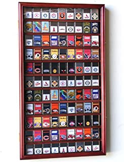 99 Zippo Lighter Display Case Cabinet Holder Wall Rack w/UV Protection