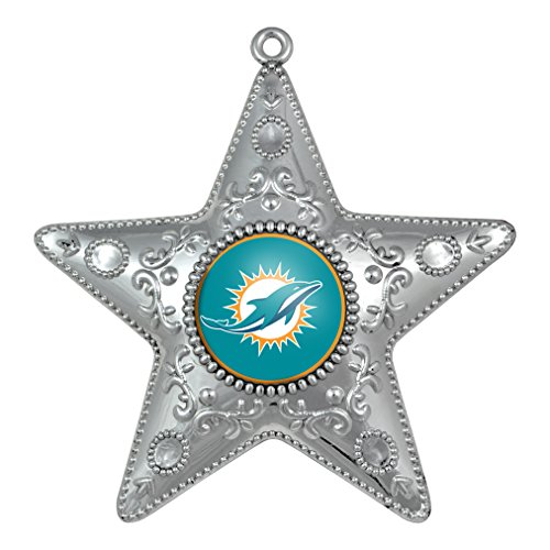 NFL Miami Dolphins Silver