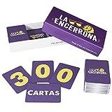 ZENAGAME La Encerrona - 300 Cartas - Juego de Mesa - El Juego de Beber para Tus veladas - Juego de...