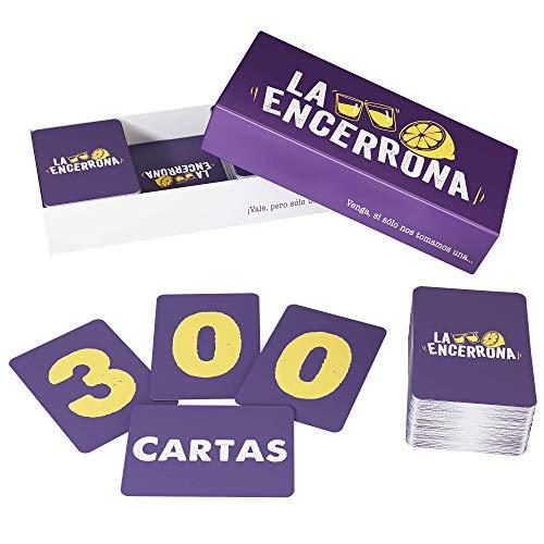 ZENAGAME La Encerrona - 300 Cartas - Juego de Mesa - El...