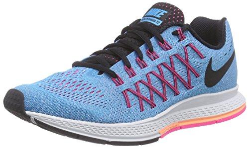 Nike Wmns Air Zoom Pegasus 32, Scarpe da ginnastica, Donna, Arancione (Hyper Orange/Blk-Vlt-Opt Yllw), 36.5