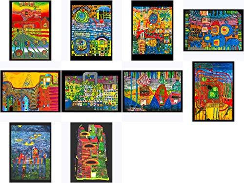 Kunstkarten-Set Friedensreich Hundertwasser II