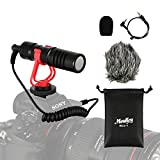 Moukey MCM-1 DSLR Camera Microphone, External Video Mic Shotgun for Phone,...