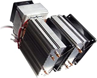 TAOHOU XD-2088 DC 12V Sistema de refrigeración por Aire del radiador de refrigeración por Aire Peltier 20A 180W Negro