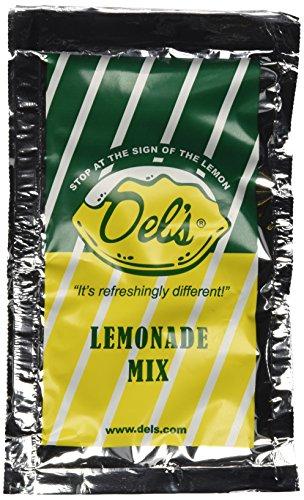 Del's Lemonade All Natural Lemonade Mix Four (4) Pack