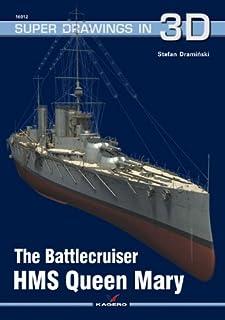 The Battlecruiser HMS Queen Mary (Super Drawings in 3d)