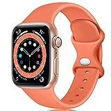 Epova Armband Kompatibel mit Apple Watch Armband 38mm 40mm, Weiches Silikon Ersatz Armband...