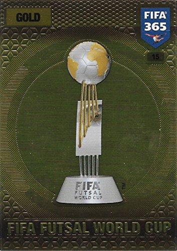 Panini FIFA 365 Adrenalyn XL 2017 - #15 - FIFA Futsal World Cup (Gold)