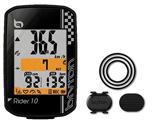 Unbekannt Bryton Rider 10 C Fahrradcomputer, schwarz, One Size
