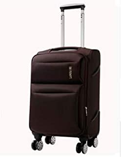 Hengtongtongxun Carry Suitcase Rotating Suitcase Color : Purple, Size : 20 Simple Simple and 20//24//28 Inches Soft Case Purple The Latest Style