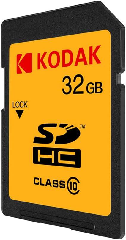 Tarjeta SD de 32 GB clase 10 Docooler Kodak U1 alta velocidad c/ámara r/éflex digital 85 MB//s