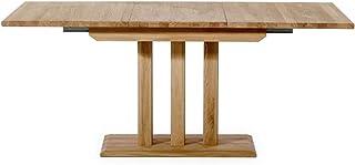 Alkove - Hayes - Table à rallonges en bois massif, 180cm, Chêne sauvage