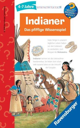 Ravensburger 23261 - Wieso? Weshalb? Warum?: Indianer Mitbringspiel