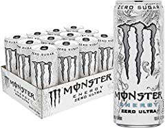 FULL FLAVOR, ZERO SUGAR | Monster Energy Zero Ultra 10.5oz contains zero sugar and only 5 calories, but with all the flavor you're accustomed to and packed with our sugar-free Monster Energy blend. REFRESHING TASTE | Zero Ultra's lighter tasting flav...