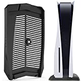 XFY PS5 Built-in Cooling Vents Vertical Stand, Game Accessories, with Non-Slip Feet, for PS5 Digital Edition