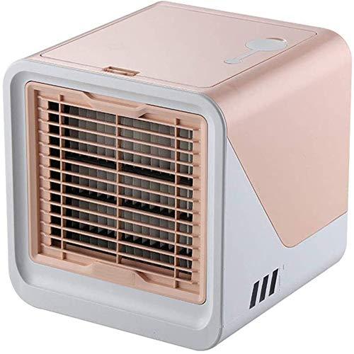 Airconditioning Persoonlijke Luchtkoeler, Draagbare Verdampingsconditioner Met 3 Windsnelheden Touchscreen Kleine Desktopventilator, Stille Desktop Met Koude Lucht