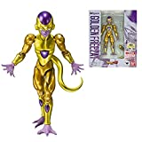 Figure Di Dragon Ball Dragon Ball Z Super Saiyan Golden Freezer Action Pvc Collection Model Toy Anime Figure Toys For Kids 11.5Cm
