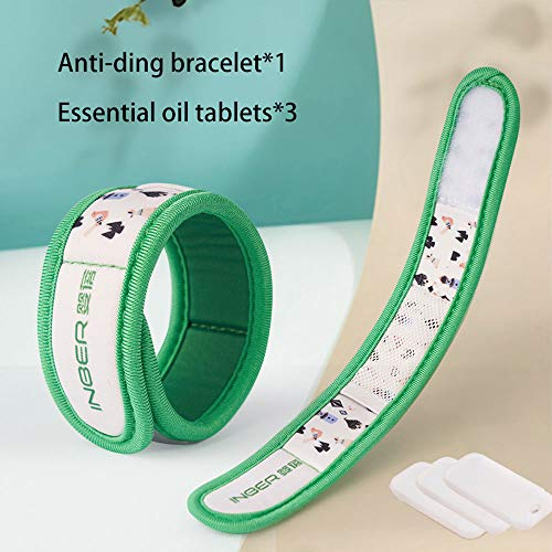 Mosquito Repellent Bracelet Anti Mosquito Bands Citronella Oil,all Natural Waterproof And Insect-proof Adjustable Mosquito Repellent Belt,to Provide Protection For Children