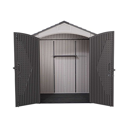 Lifetime 60057 Outdoor Bicycle Storage Shed, 7 Feet by 4.5 Feet