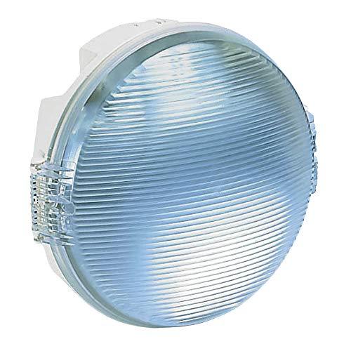 Legrand 062425 E27 Rond Étanche Hublot Koro pour Lampe, Blanc