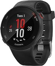 Garmin 010-N2156-02 Forerunner 45S GPS Heart Rate Monitor Running Smartwatch, Black - (Renewed)