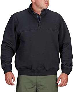 Propper Men's 1/4 Zip Job Shirt, LAPD Navy, XX-Large/Regular