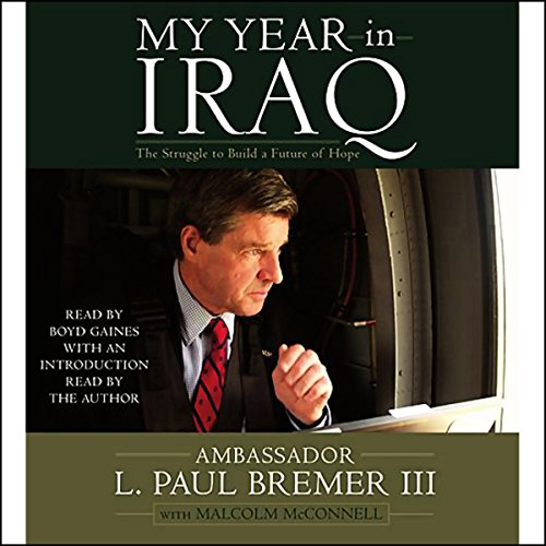 My Year in Iraq audiobook cover art