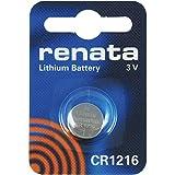 CR1216 Knopfzellenbatterie / Lithium 3V / für Uhren, Taschenlampen, Autoschlüssel , Taschenrechner , Kameras, etc / iCHOOSE