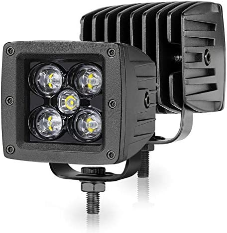 LED Cubes Niwaker 3 Inch 100W Spot LED Pods CREE LED Work Light Off Road Driving Lights Square product image