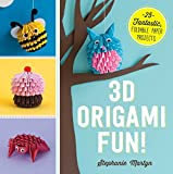 3D Origami Fun!: 25 Fantastic, Foldable Paper Projects (English Edition)