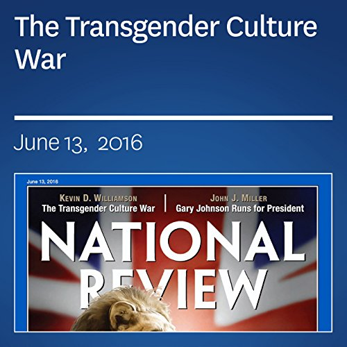 The Transgender Culture War audiobook cover art