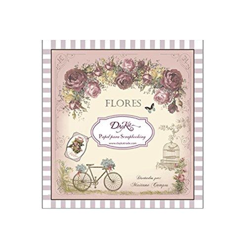 Dayka Trade Pad Dayka Flores 20x20cm