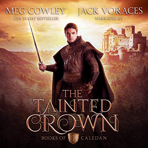The Tainted Crown  By  cover art