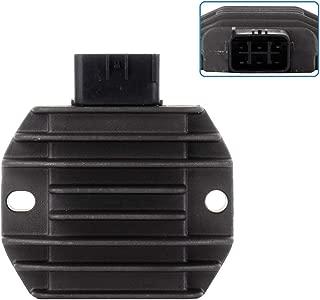 ECCPP Voltage Regulator Rectifier Fit for 2000-2006 Yamaha Kodiak 400 2003-2006 Yamaha Kodiak 450 1999-2001 Yamaha V Star 1100 ZZP-XCO61188 Rectifier Regulator