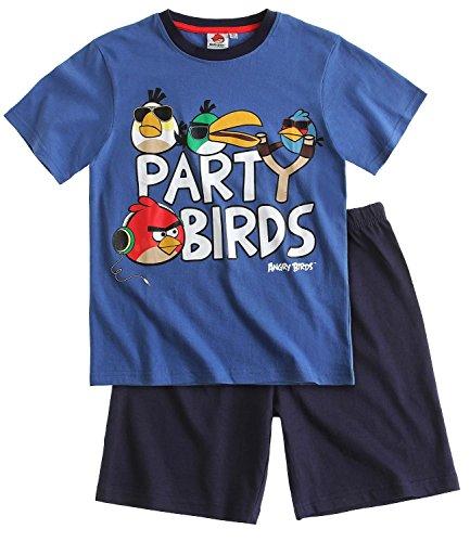 Angry Birds - Pijama dos piezas - para niño Marine Blau 6 años